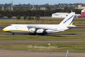 The Vodka Burner Returns: Antonov 124 Visits Brisbane Airport