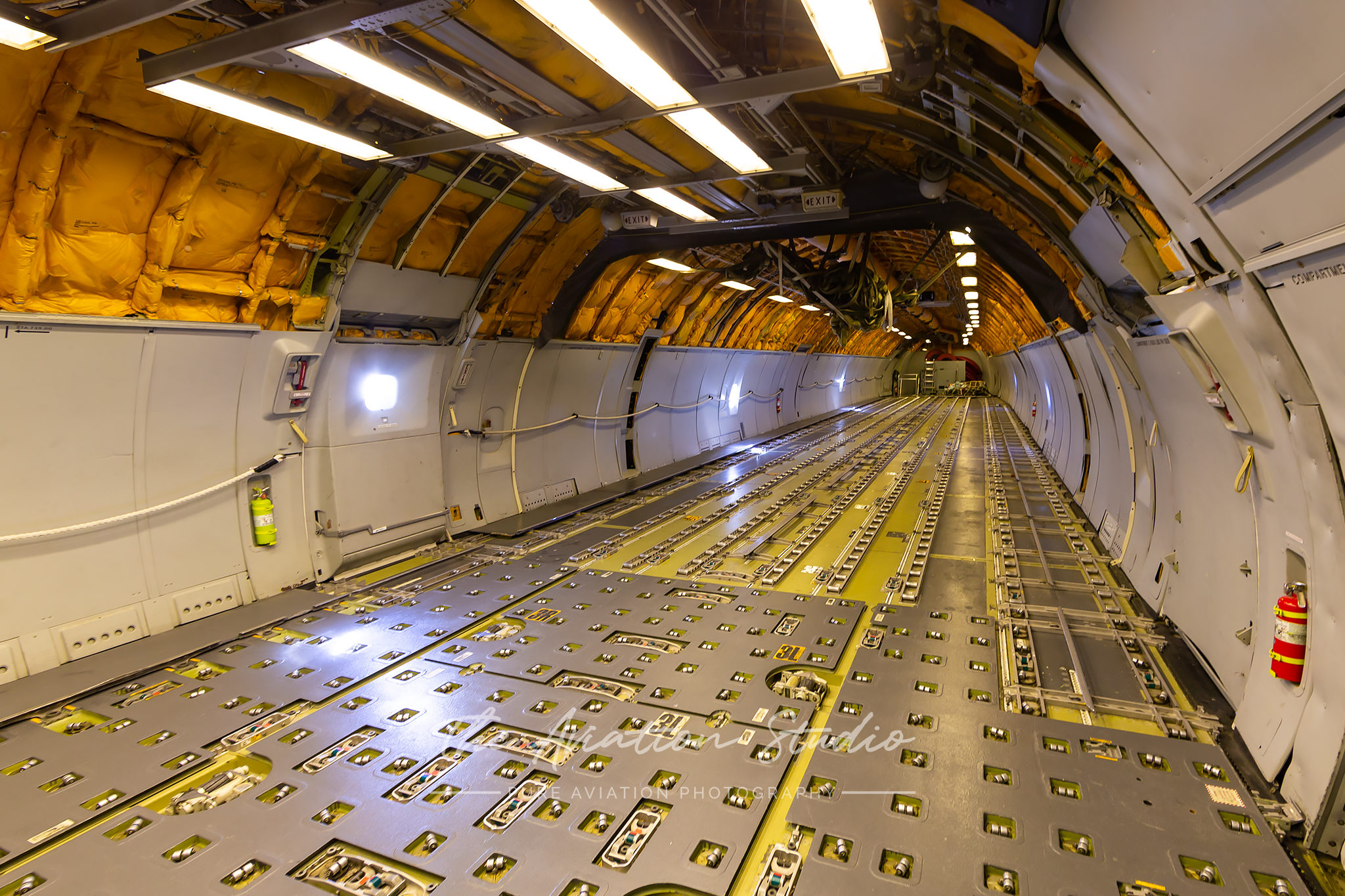 KC10A Cargo Deck