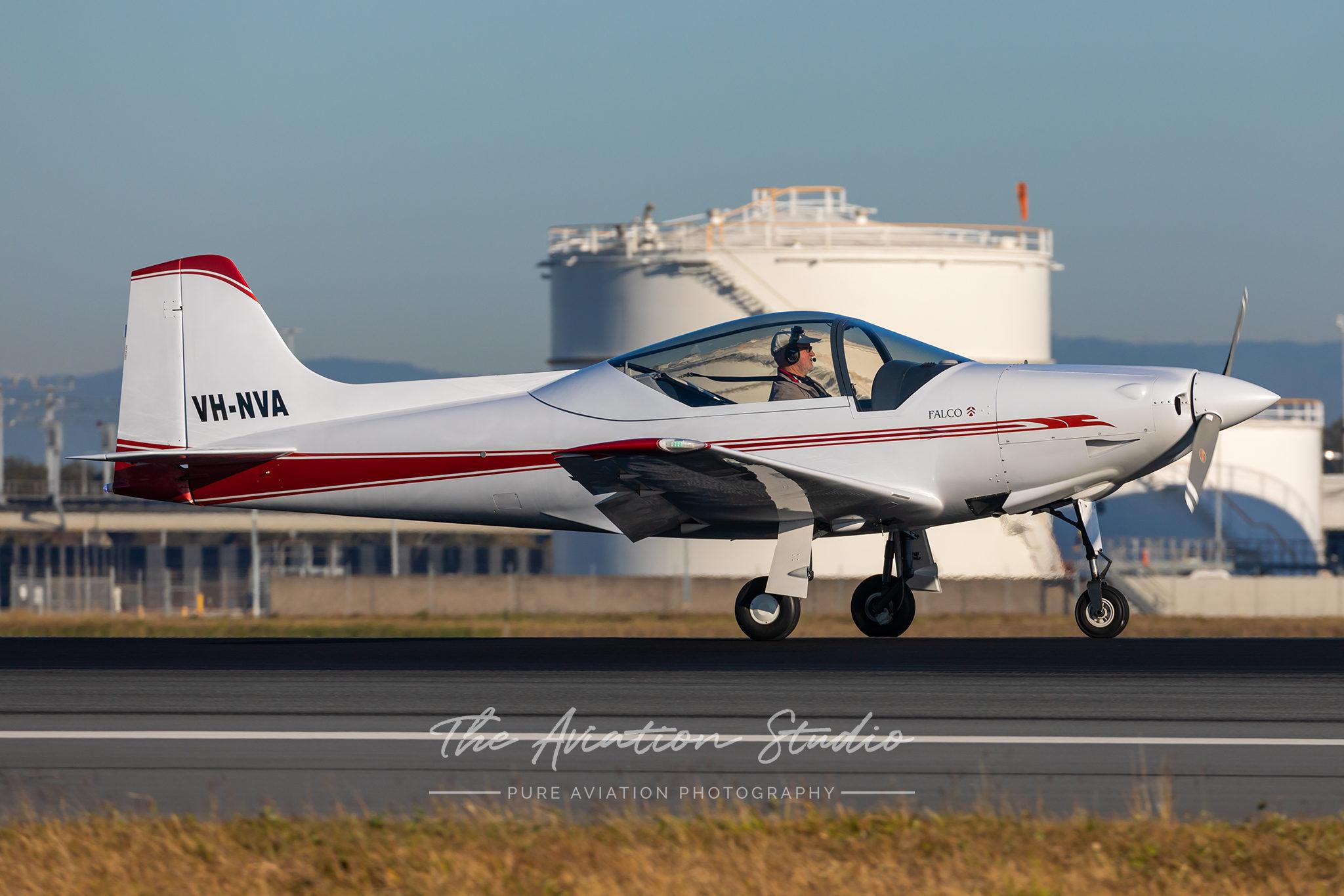 Falco F8L - VH-NVA - BNE