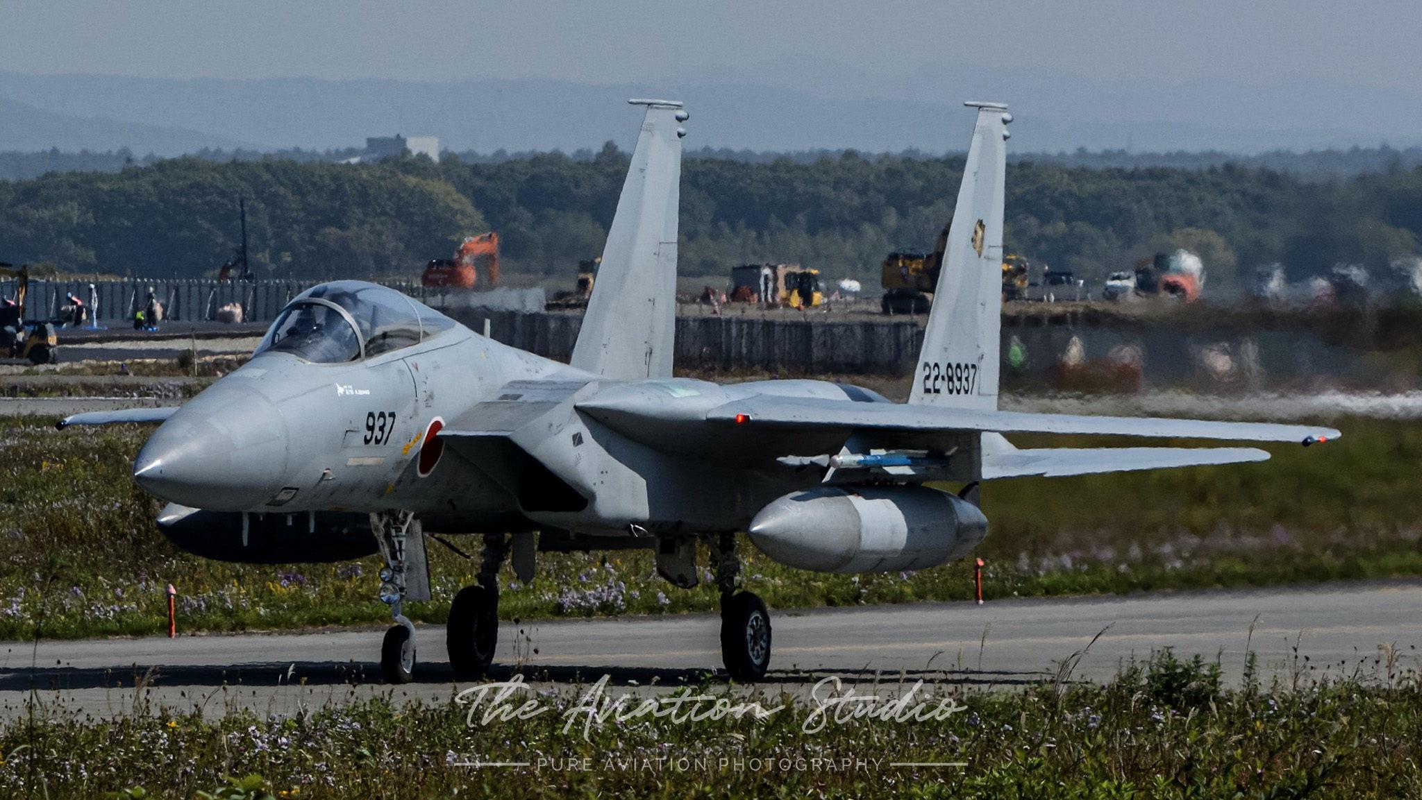 JASDF F-15J 22-8937 taxiing at Chitose Air Base