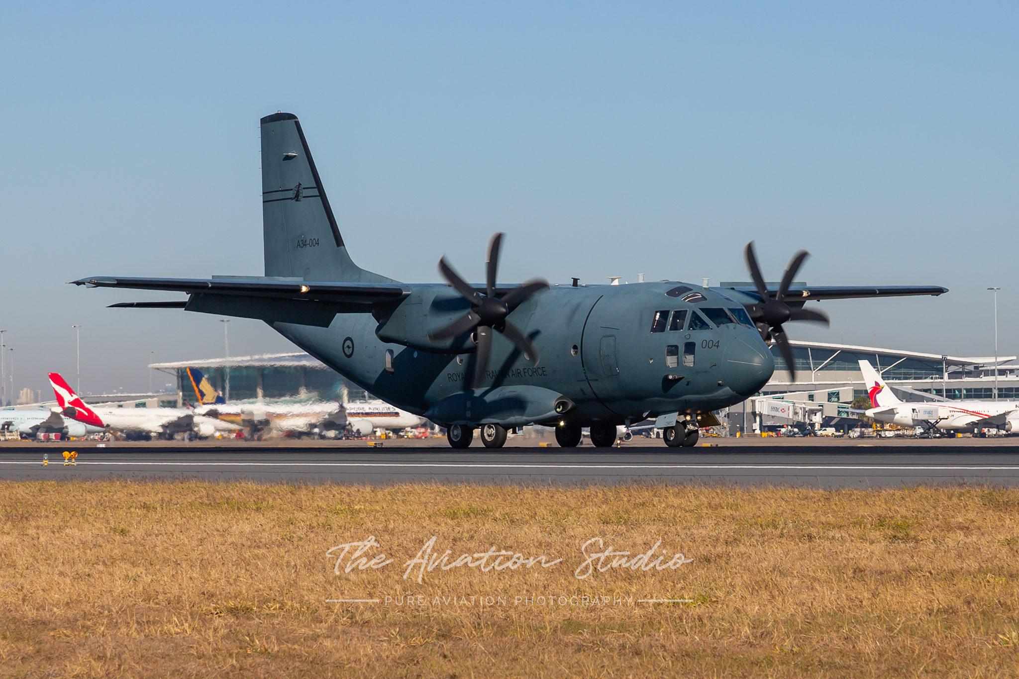 Royal Australian Air Force C-27 Spartan - A34-004 - BNE