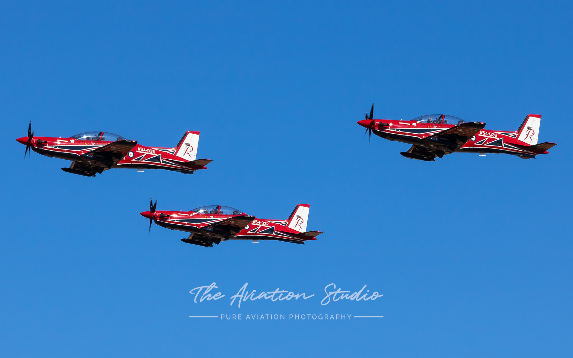 PC-21s at Edinburgh Airshow