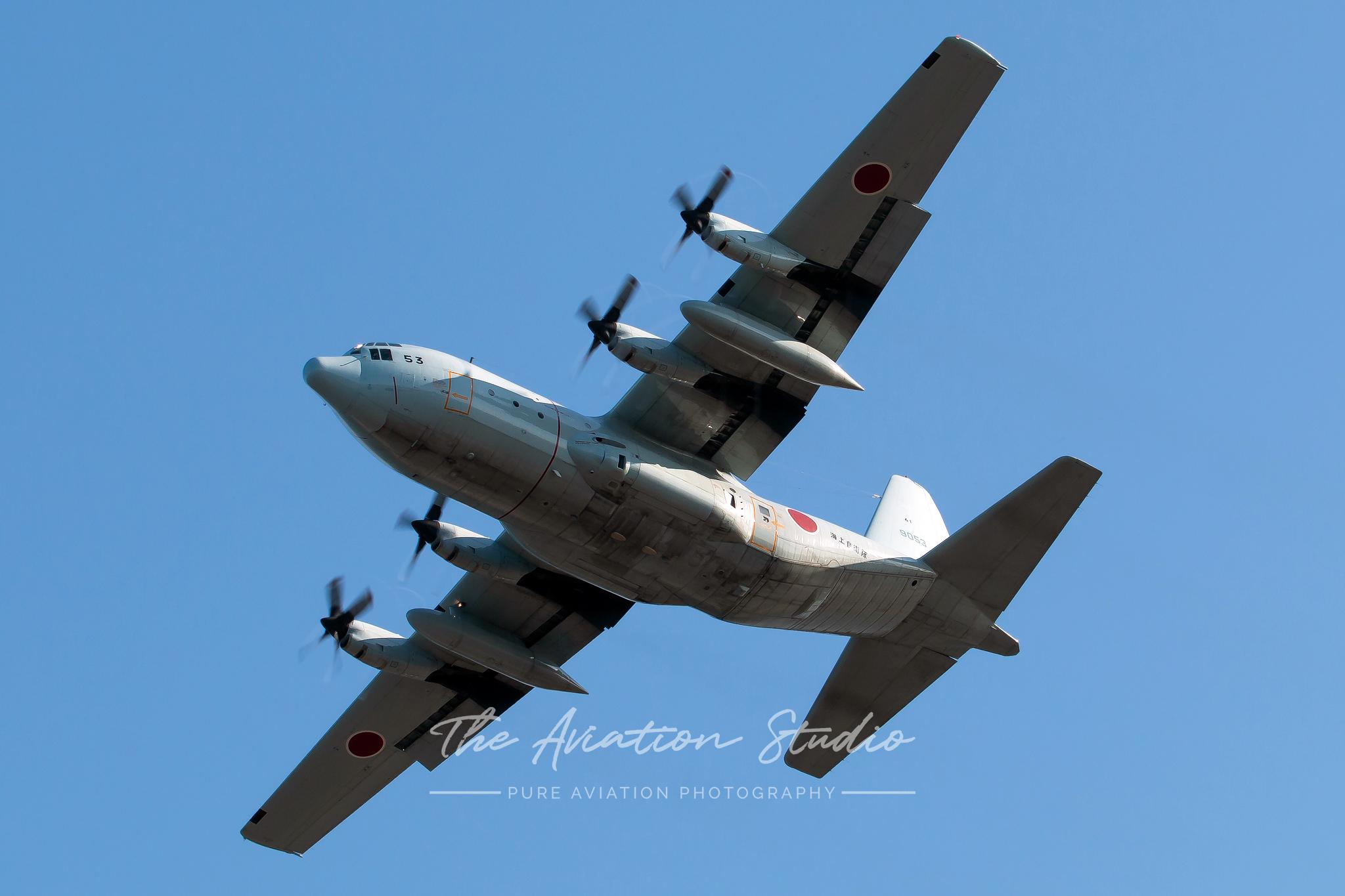 Lockheed C-130H Hercules 9053 (Image: Brock Little)