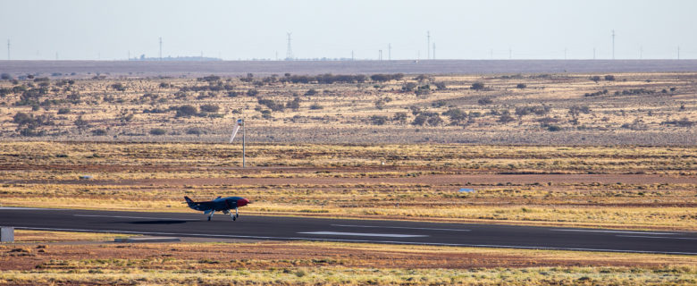 Loyal Wingman getting airborne at RAAF Base Woomera