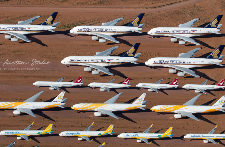 Whales in the Desert: Exploring Australia's Aircraft Storage Facility