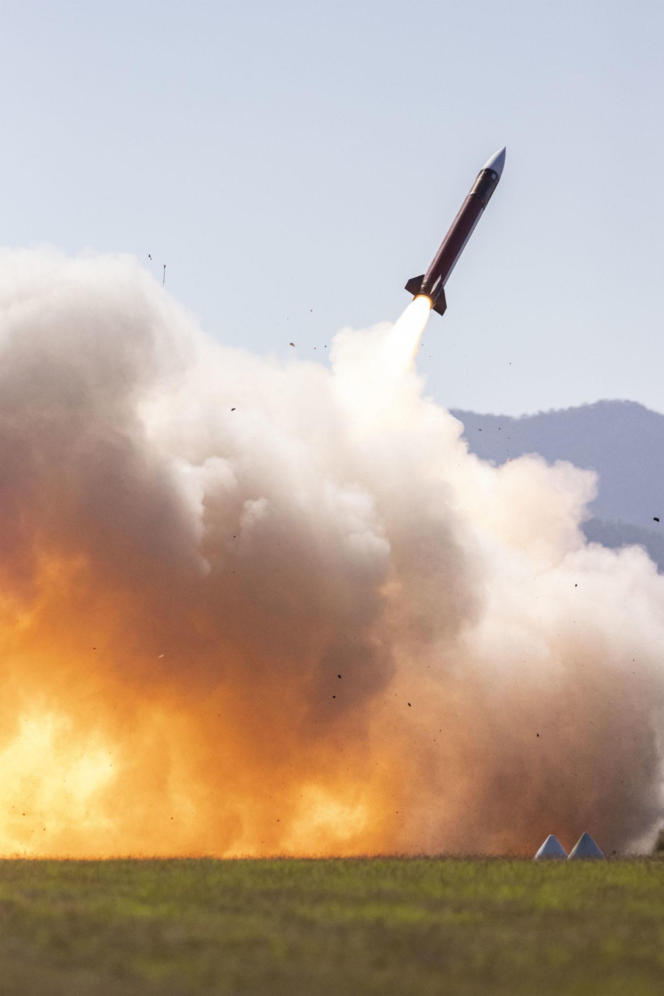 US Patriot SAM Fires in Australia