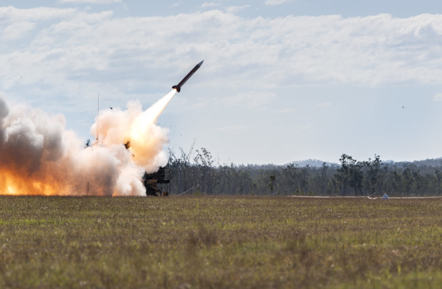 US Patriot SAM Fires For The First Time In Australia