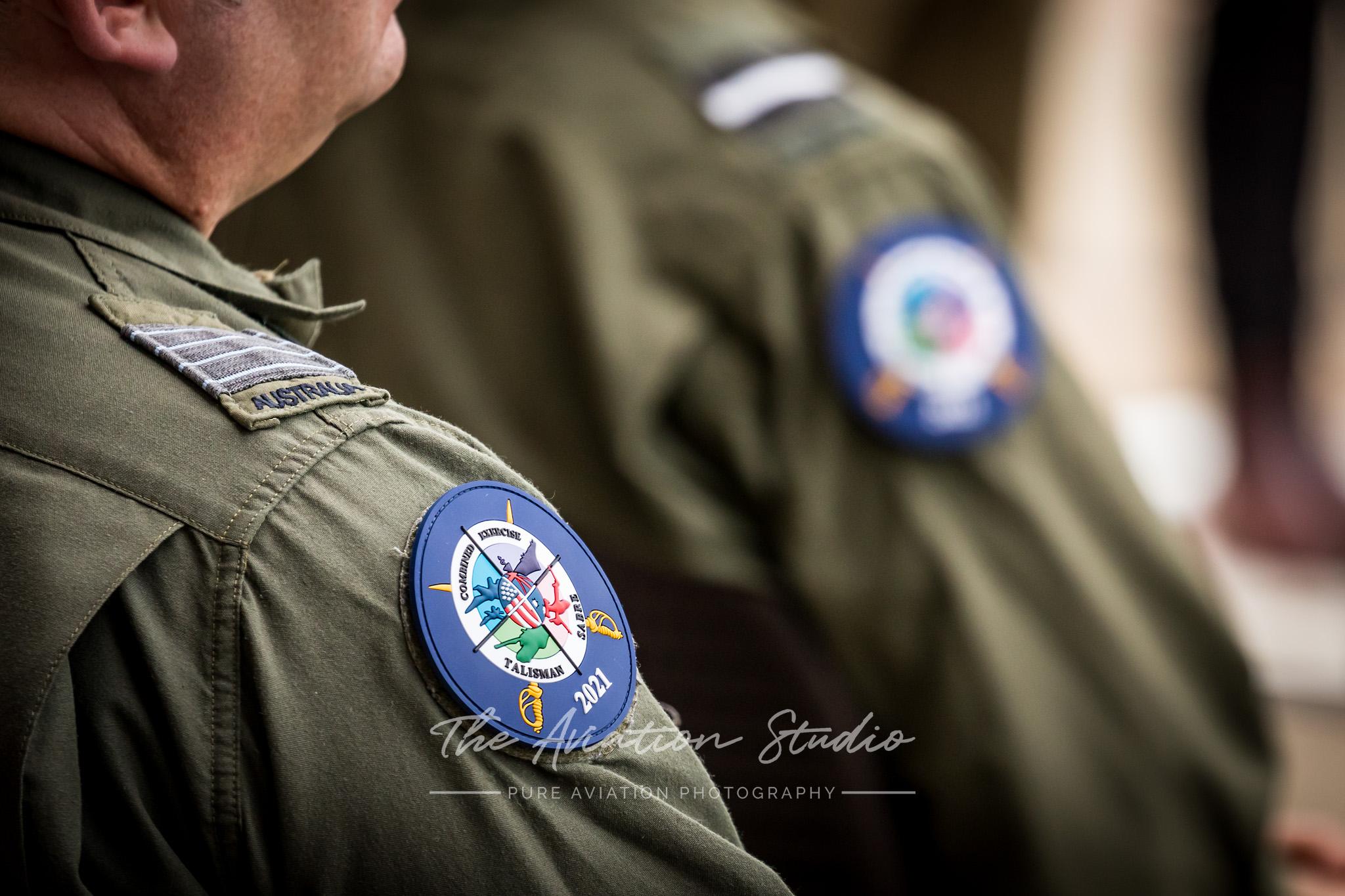Talisman Sabre 21 patches (Image: Emil Cooper)
