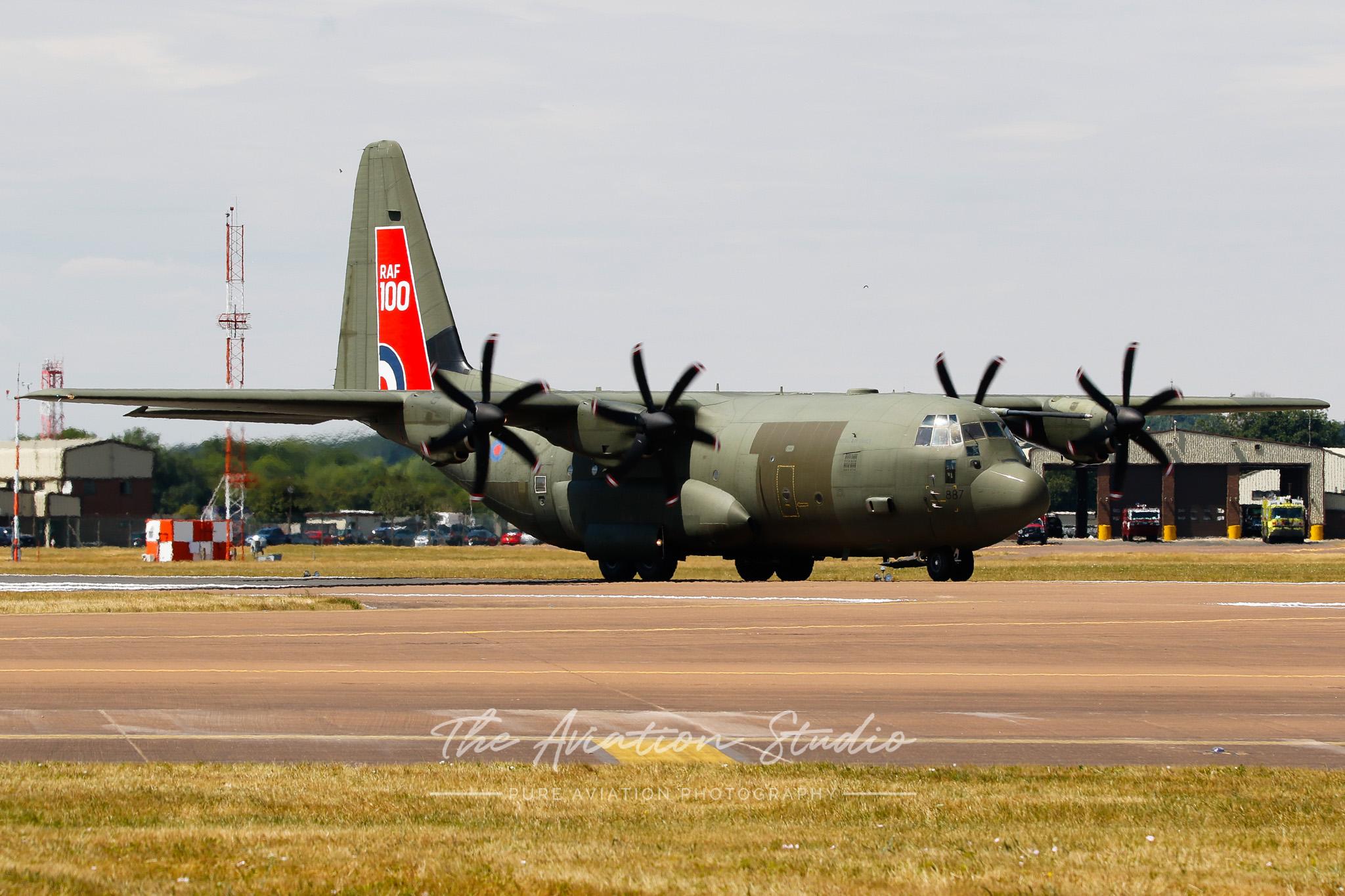 RAF Lockheed Martin C-130J Hercules