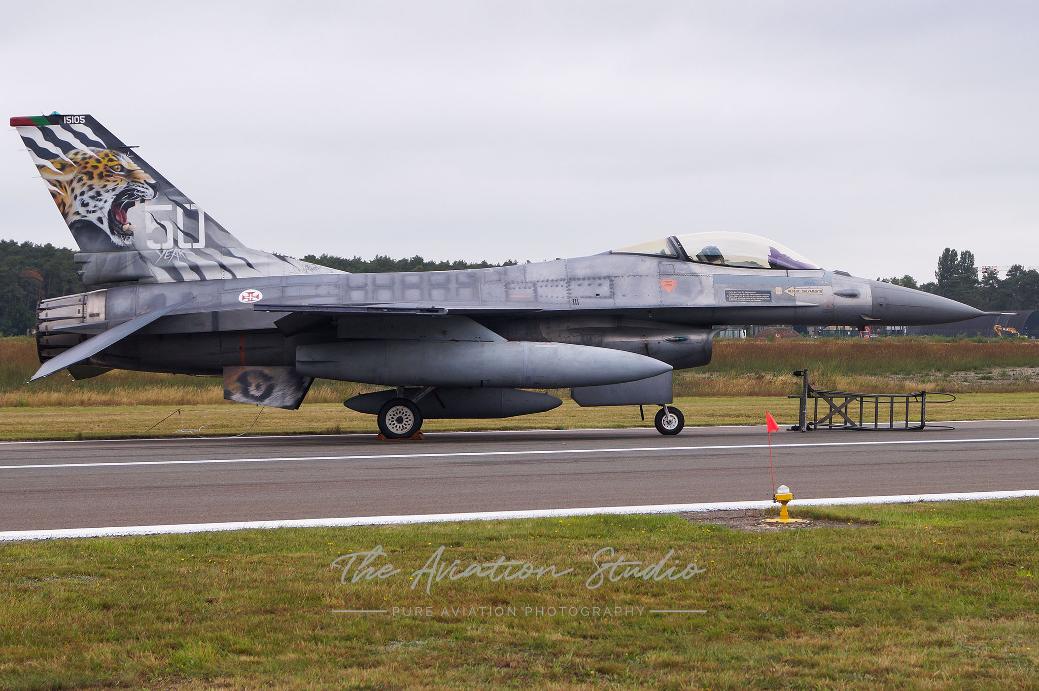 Portuguese Air Force General Dynamics F-16AM Fighting Falcon 15105 at Spottersday Kleine Brogel 2021