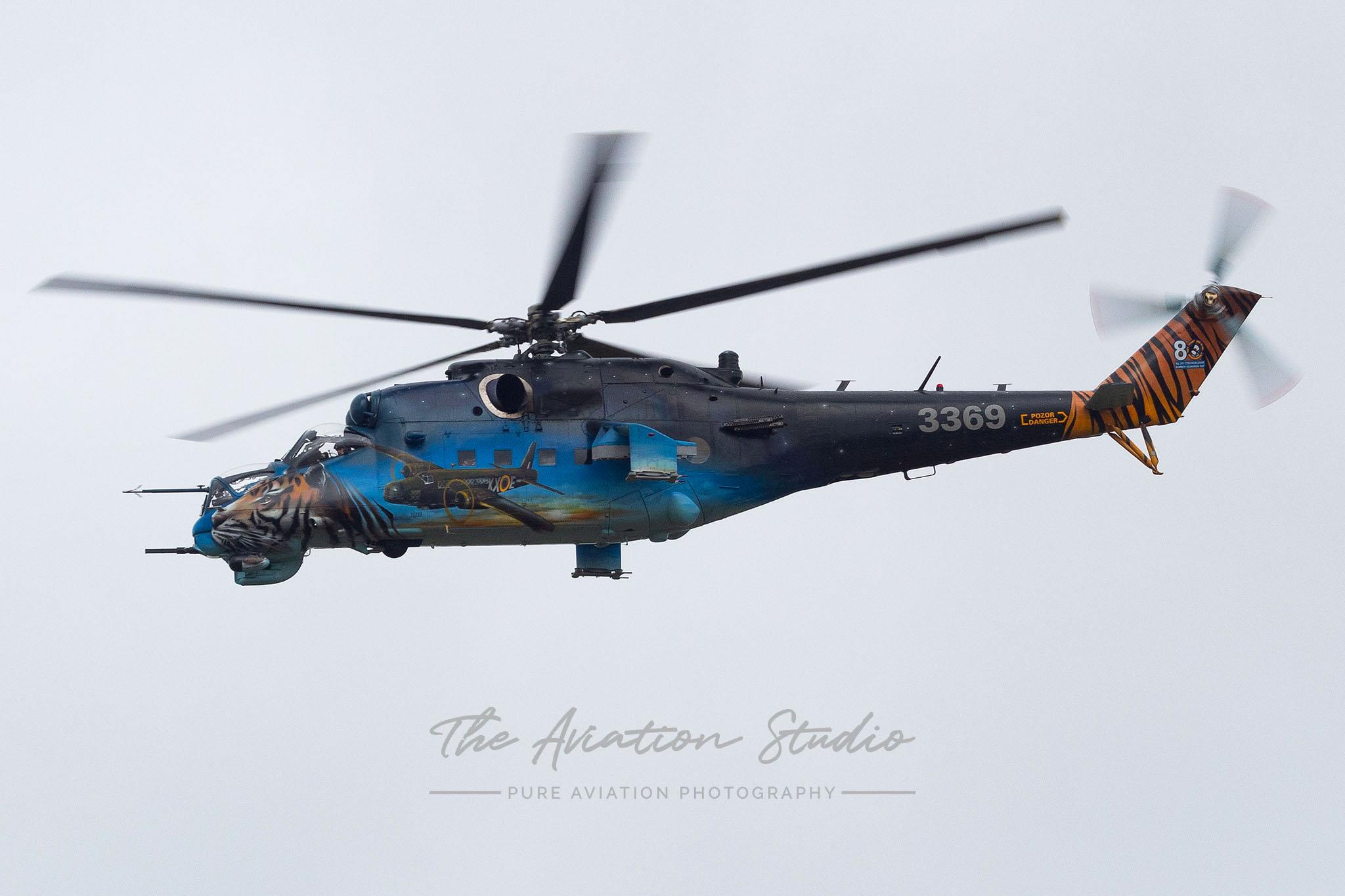 Czech Air Force Mil Mi-35M Hind 3369 at Spottersday Kleine Brogel 2021