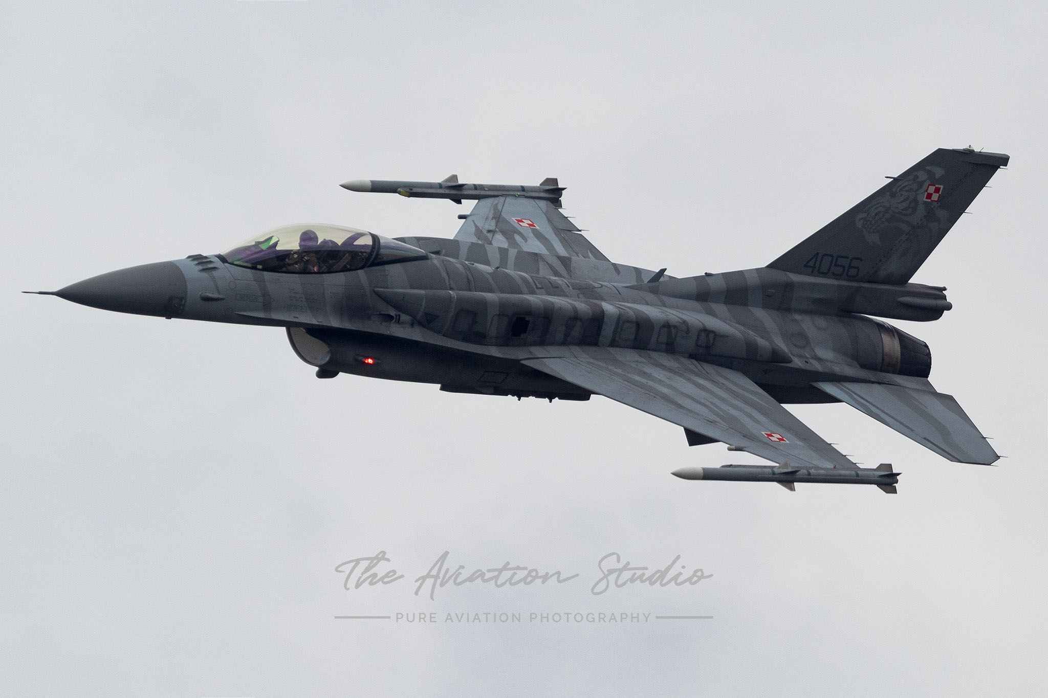 Polish Air Force General Dynamics F-16C Fighting Falcon 4056 at Spottersday Kleine Brogel 2021