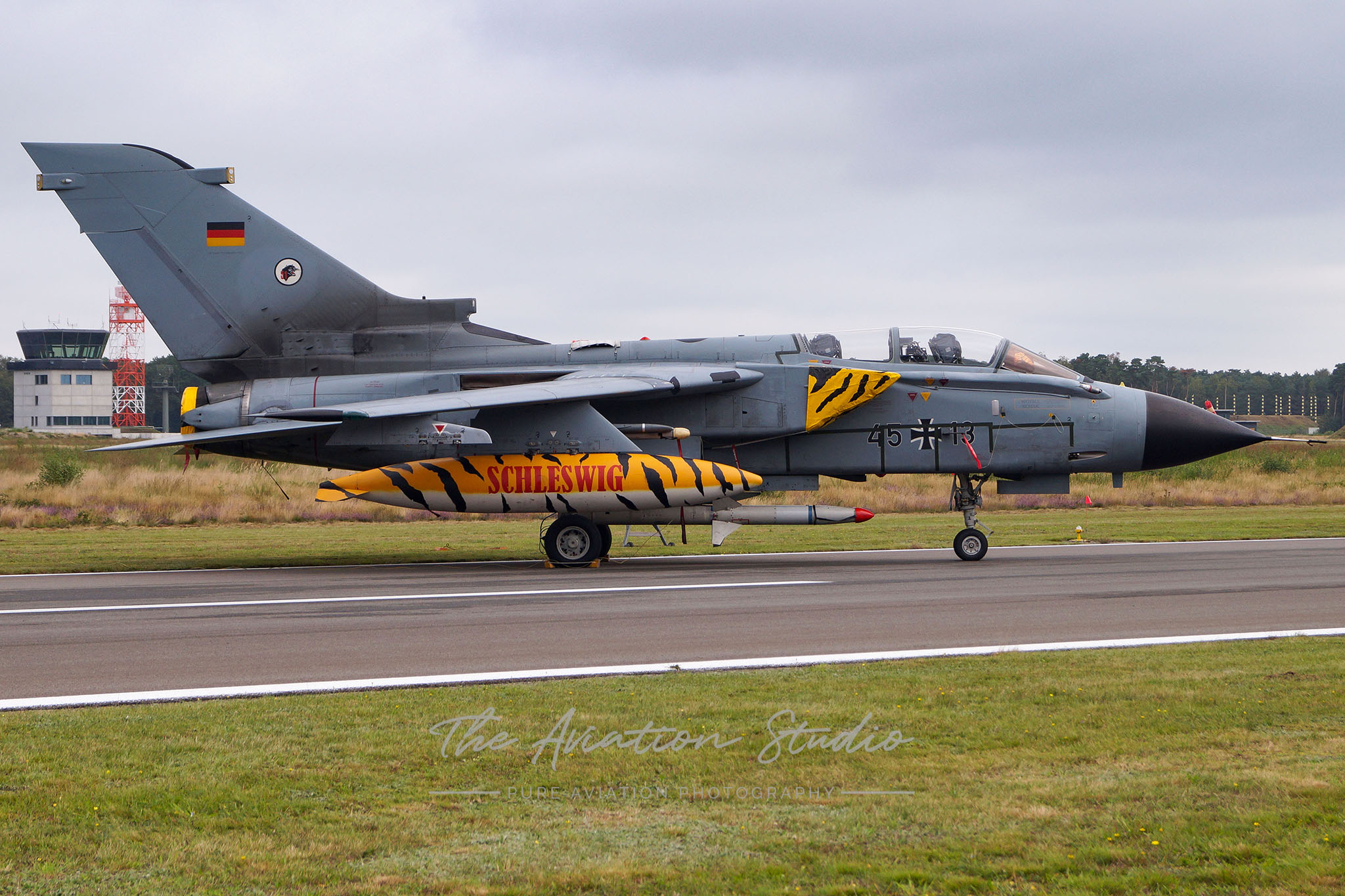 German Air Force Panavia Tornado IDS 45+13 at Spottersday Kleine Brogel 2021