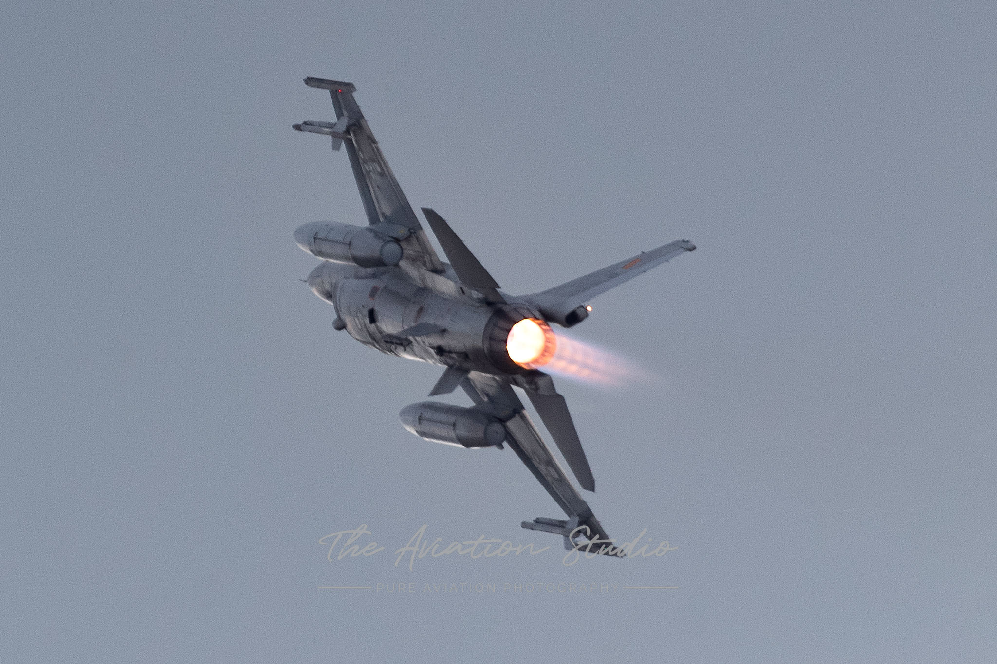 Belgian Air Force General Dynamics F-16AM Fighting Falcon FA-107 at Spottersday Kleine Brogel 2021