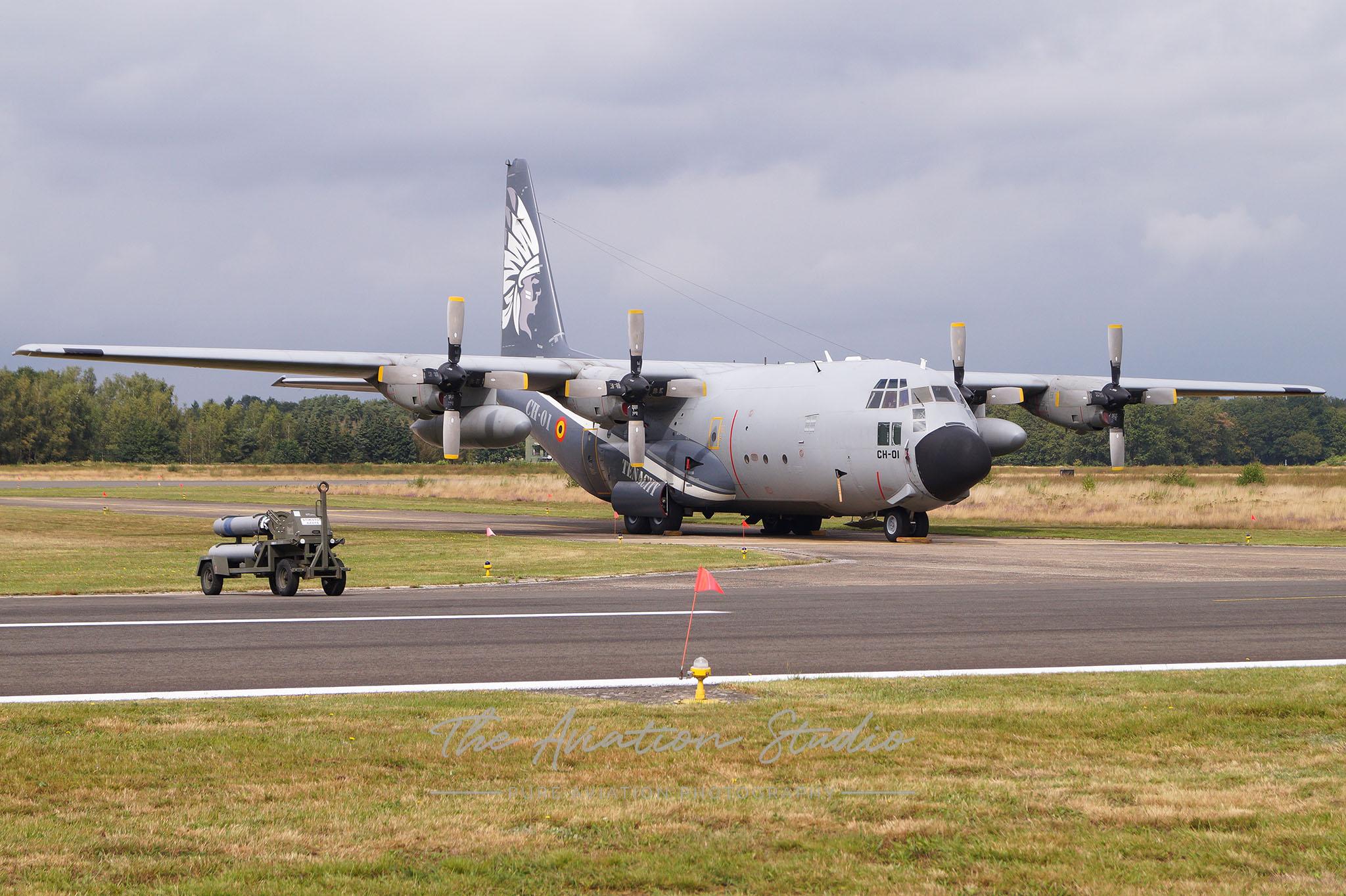 Belgian Air Force Lockheed C-130H Hercules CH-01 at Spottersday Kleine Brogel 2021