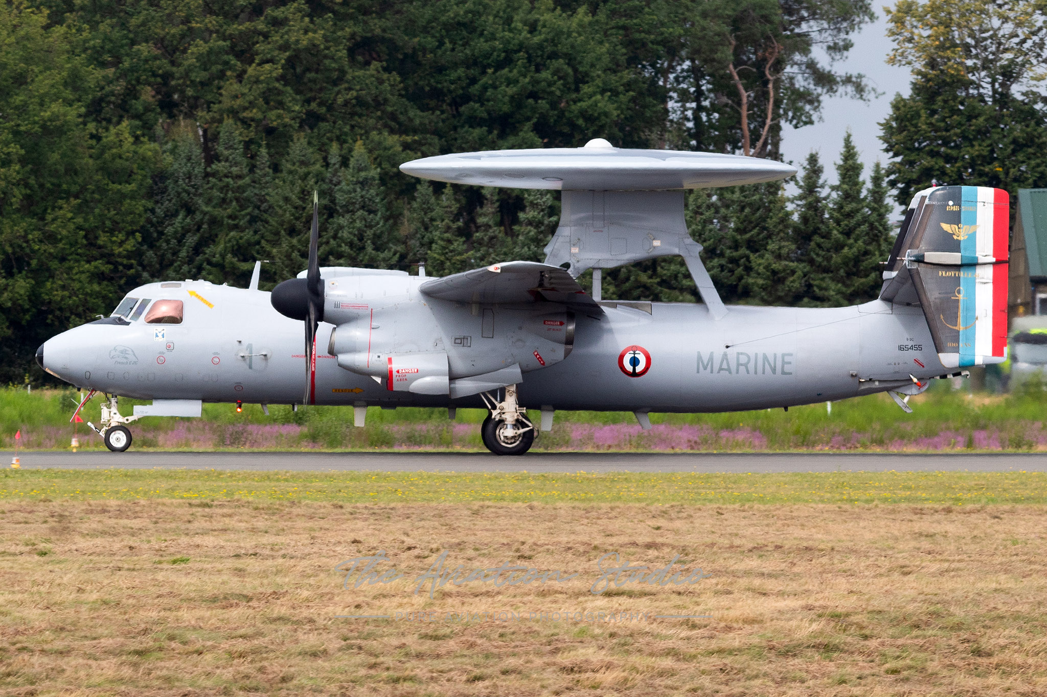 French Navy Grumman E-2C Hawkeye 1 at Spottersday Kleine Brogel 2021