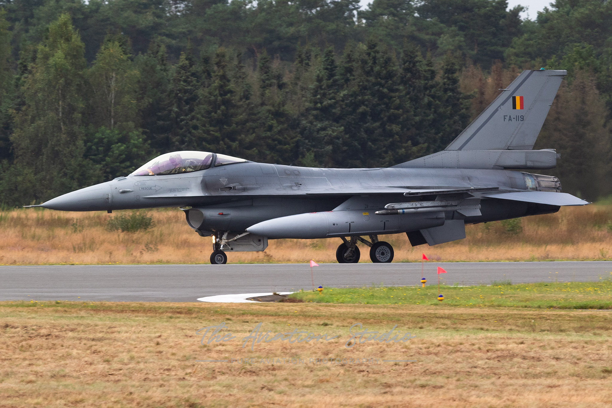 Belgian Air Force General Dynamics F-16AM Fighting Falcon FA-119 at Spottersday Kleine Brogel 2021