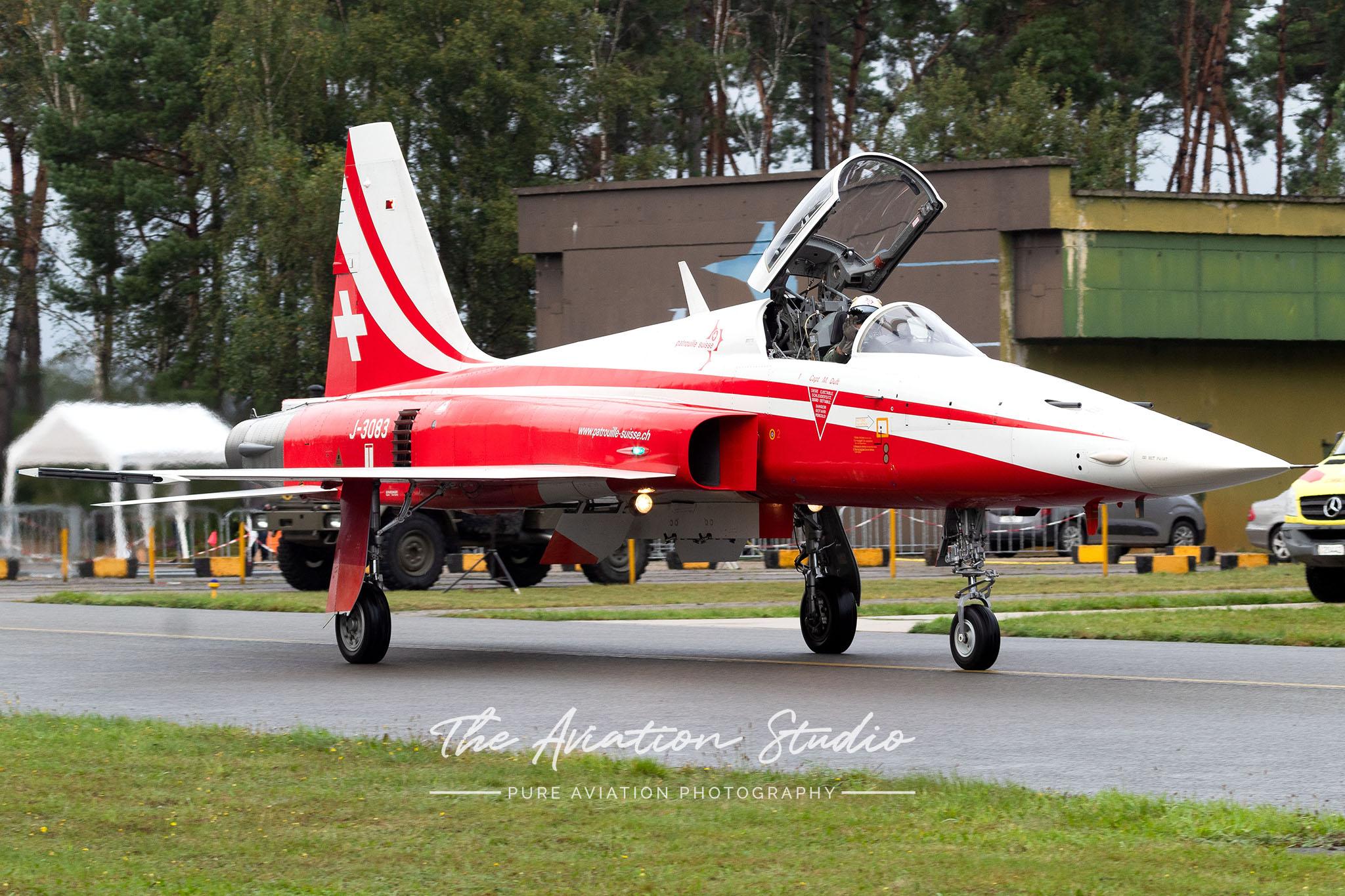 Patrouille Suisse Northrop F-5 J-3083 at Spottersday Kleine Brogel 2021